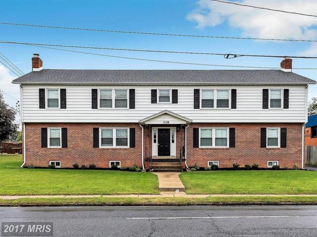 338 Jefferson Street S, Frederick, MD 21701 (#FR10082439) :: LoCoMusings
