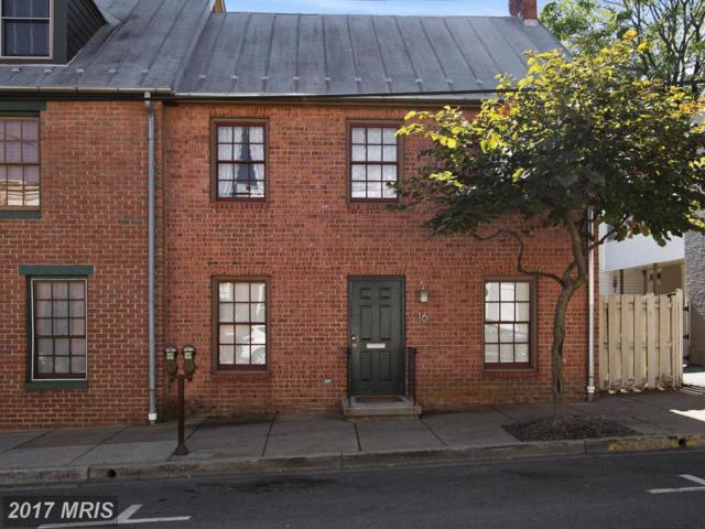 16 All Saints Street #16, Frederick, MD 21701 (#FR10086052) :: ReMax Plus