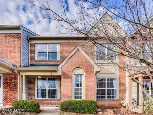 874 Waterford Drive, Frederick, MD 21702 (#FR10163217) :: Ultimate Selling Team