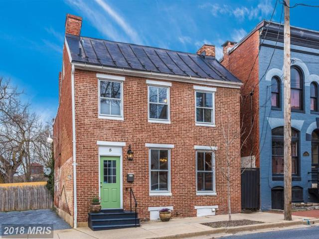 5 South Street E, Frederick, MD 21701 (#FR10203314) :: Keller Williams Pat Hiban Real Estate Group
