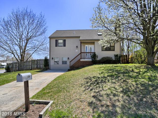 184 Poinsett Lane, Frederick, MD 21702 (#FR10216364) :: ReMax Plus
