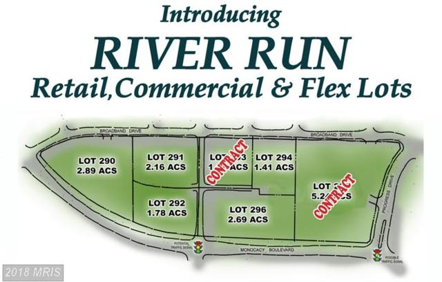LOT 292 Monocacy Boulevard, Frederick, MD 21701 (#FR10279292) :: The Bob & Ronna Group