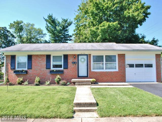 1496 10TH Street, Frederick, MD 21702 (#FR10340212) :: The Sebeck Team of RE/MAX Preferred
