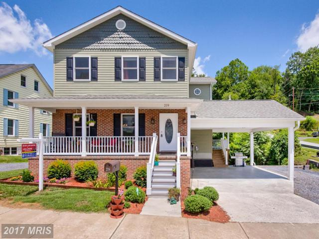 219 A Street, Brunswick, MD 21716 (#FR9999372) :: Pearson Smith Realty