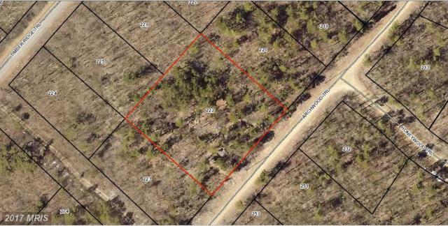 0 Archwood Trail, Winchester, VA 22602 (#FV10124691) :: The Gus Anthony Team
