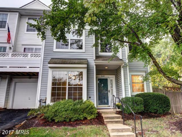 5107 Wyndham Rose Cove #116, Centreville, VA 20120 (#FX10083480) :: Pearson Smith Realty
