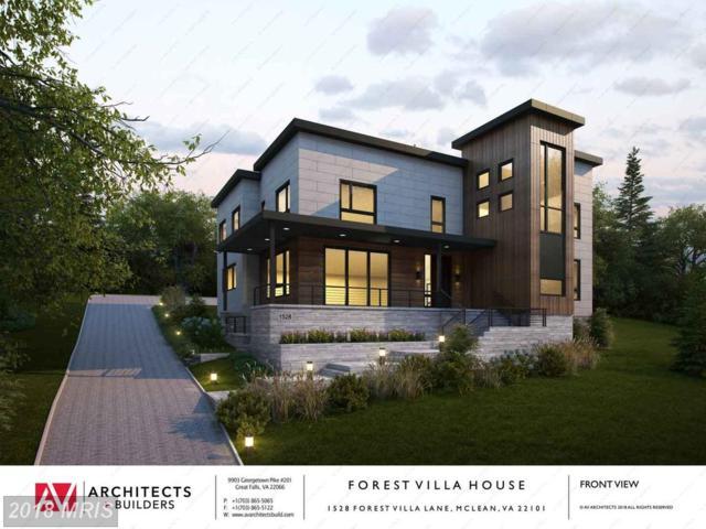 1528 Forest Villa Lane, Mclean, VA 22101 (#FX10133716) :: Long & Foster