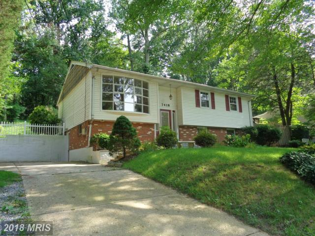 7418 Highland Street, Springfield, VA 22150 (#FX10141671) :: The Gus Anthony Team