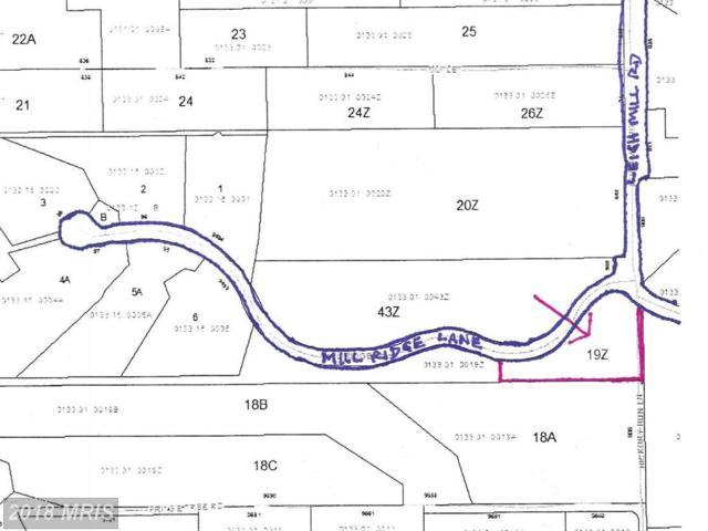 0 Mill Ridge Lane, Great Falls, VA 22066 (#FX10182768) :: Bic DeCaro & Associates