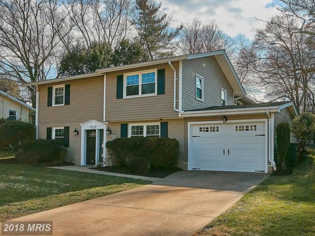 515 Walker Street SW, Vienna, VA 22180 (#FX10186237) :: RE/MAX Executives