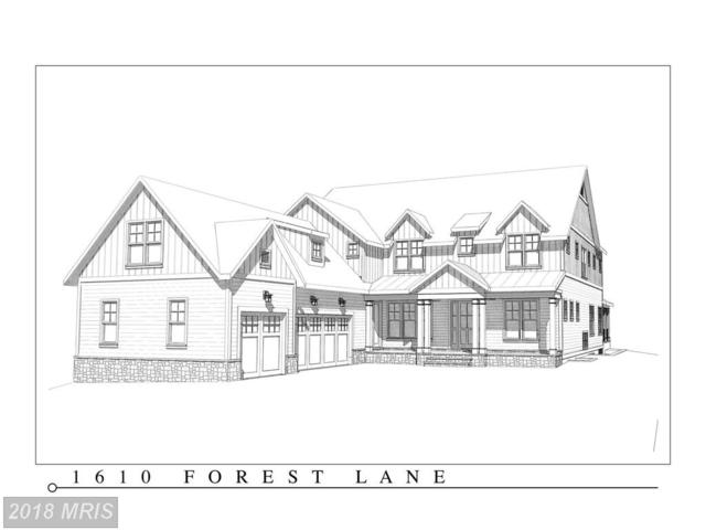 1610 Forest Lane, Mclean, VA 22101 (#FX10215797) :: Browning Homes Group