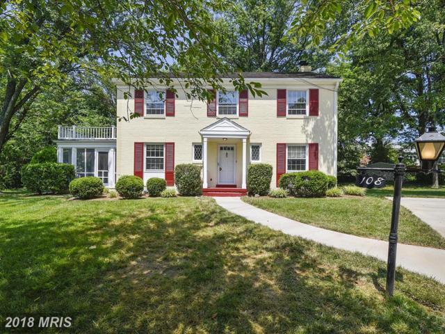 108 Oakmont Court NE, Vienna, VA 22180 (#FX10296786) :: Provident Real Estate