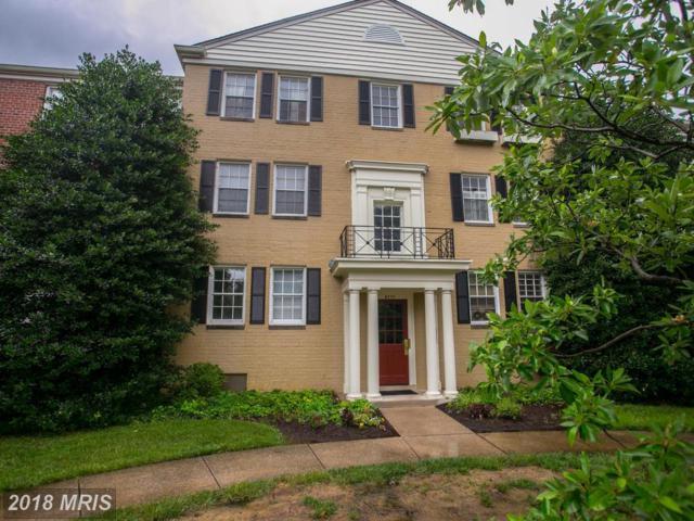 6717 Wakefield Drive W B1, Alexandria, VA 22307 (#FX9011910) :: Green Tree Realty