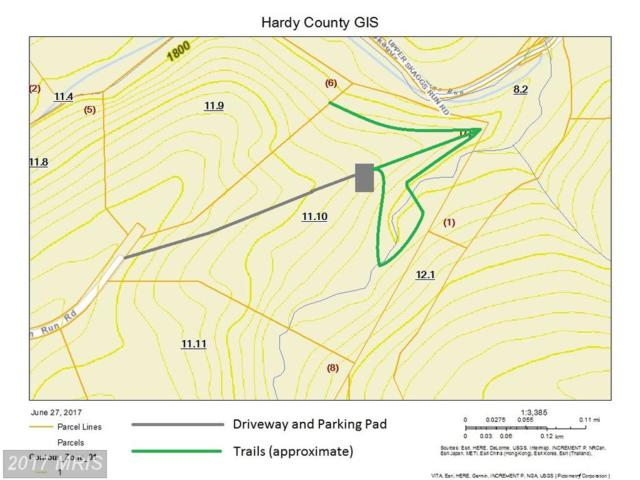 Skaggs  Run Road, Moorefield, WV 26836 (#HD9997498) :: Pearson Smith Realty