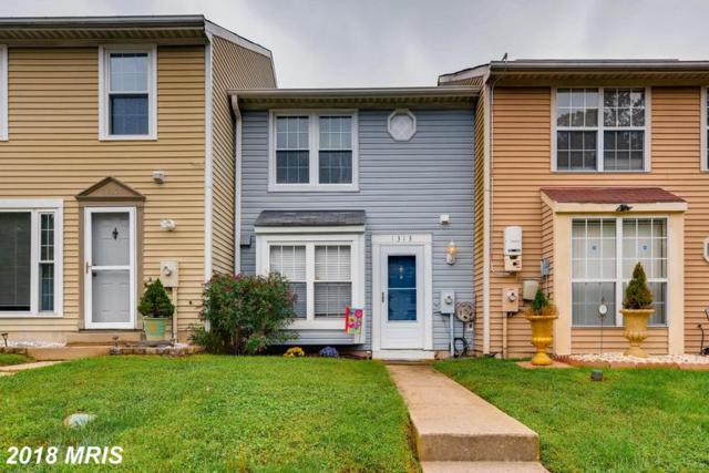 1313 Stockett Square, Belcamp, MD 21017 (#HR10355220) :: Frontier Realty Group