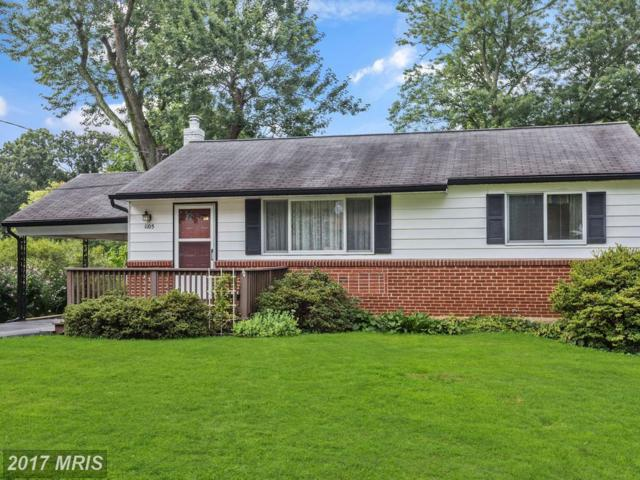 1105 Gilbert Road, Rockville, MD 20851 (#MC10027488) :: Pearson Smith Realty