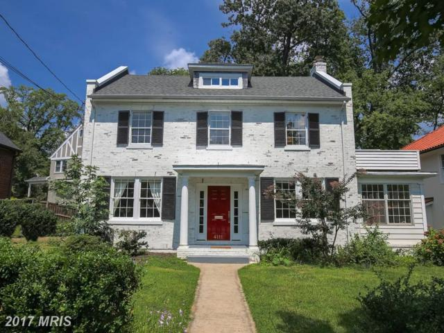 4111 Rosemary Street, Chevy Chase, MD 20815 (#MC10054092) :: Pearson Smith Realty