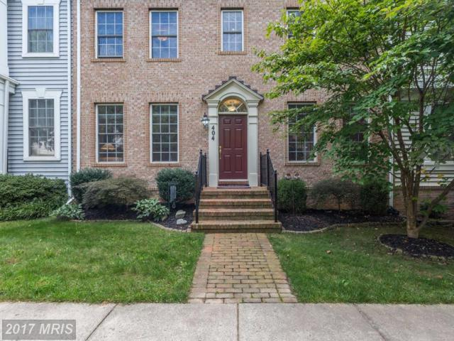 404 Garden View Way, Rockville, MD 20850 (#MC10063667) :: ExecuHome Realty