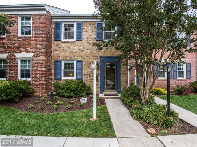 538 Azalea Drive #43, Rockville, MD 20850 (#MC10077737) :: The Belt Team