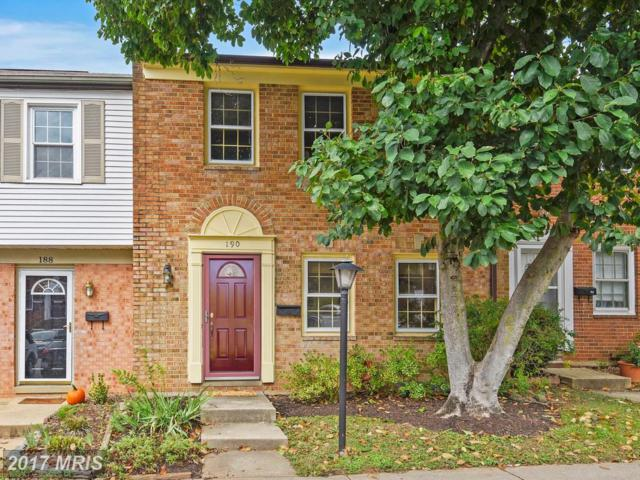 190 Gold Kettle Drive, Gaithersburg, MD 20878 (#MC10083344) :: Gary Walker at RE/MAX Realty Services