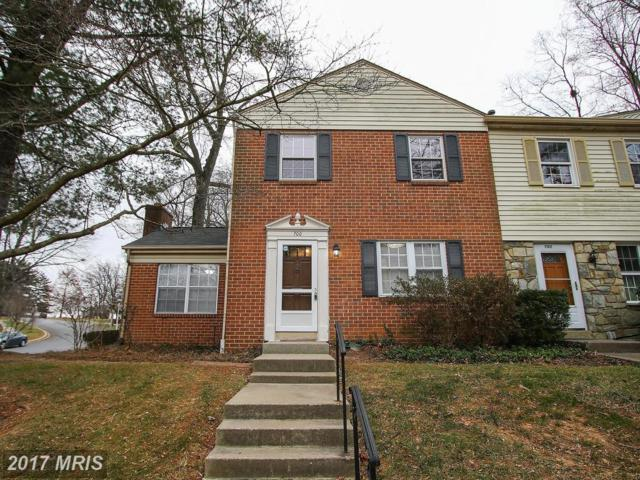 700 College Parkway #3, Rockville, MD 20850 (#MC10119052) :: The Sebeck Team of RE/MAX Preferred