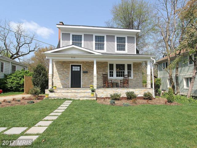 508 Bickford Avenue, Rockville, MD 20850 (#MC10120891) :: The Sebeck Team of RE/MAX Preferred