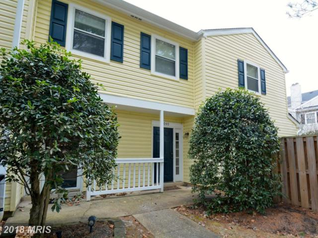 18040 Rolling Meadow Way #269, Olney, MD 20832 (#MC10132681) :: The Withrow Group at Long & Foster