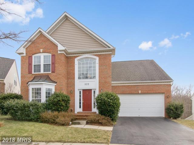 322 Tannery Drive, Gaithersburg, MD 20878 (#MC10133105) :: Pearson Smith Realty