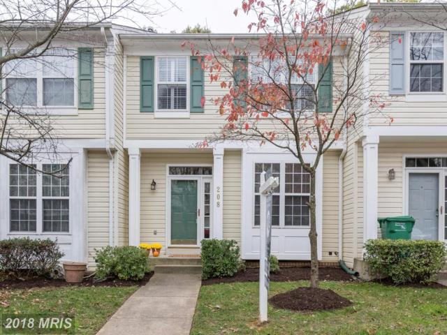 208 Twelve Oaks Drive, Gaithersburg, MD 20878 (#MC10136226) :: Pearson Smith Realty