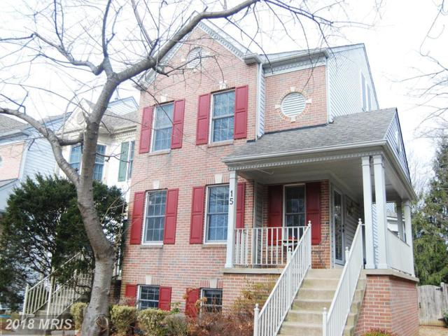15 Steeple Court, Germantown, MD 20874 (#MC10158122) :: The Maryland Group of Long & Foster