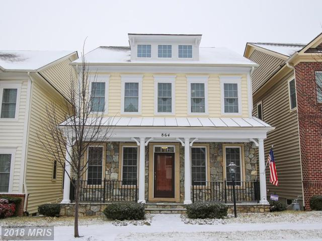 864 Hidden Marsh Street, Gaithersburg, MD 20877 (#MC10159392) :: The Maryland Group of Long & Foster