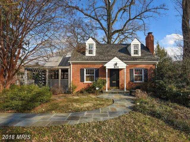 604 Dartmouth Avenue, Silver Spring, MD 20910 (#MC10183883) :: Dart Homes