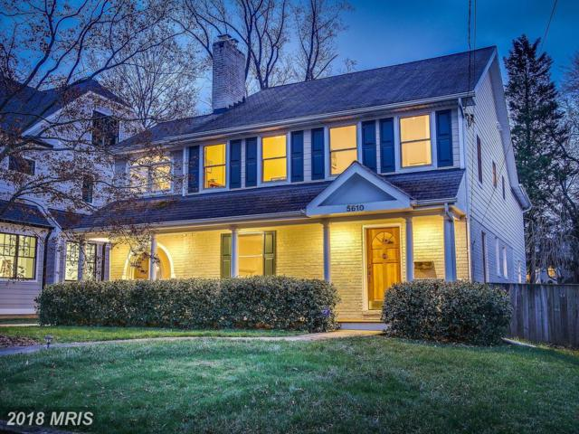 5610 Roosevelt Street, Bethesda, MD 20817 (#MC10186336) :: Blackwell Real Estate