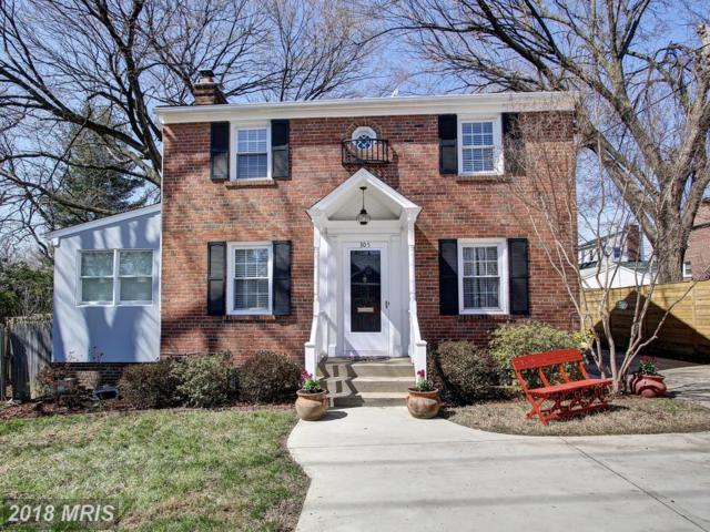 305-EAST Franklin Avenue, Silver Spring, MD 20901 (#MC10193203) :: The Bob & Ronna Group