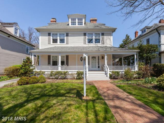11-WEST Irving Street, Chevy Chase, MD 20815 (#MC10208552) :: The Daniel Register Group