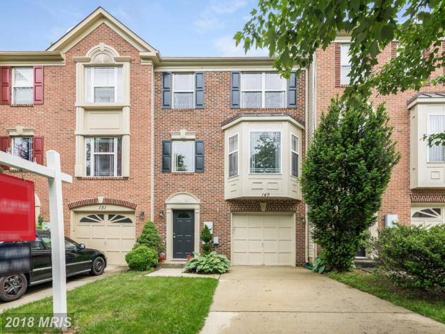 149 Emory Woods Court, Gaithersburg, MD 20877 (#MC10248825) :: Wes Peters Group