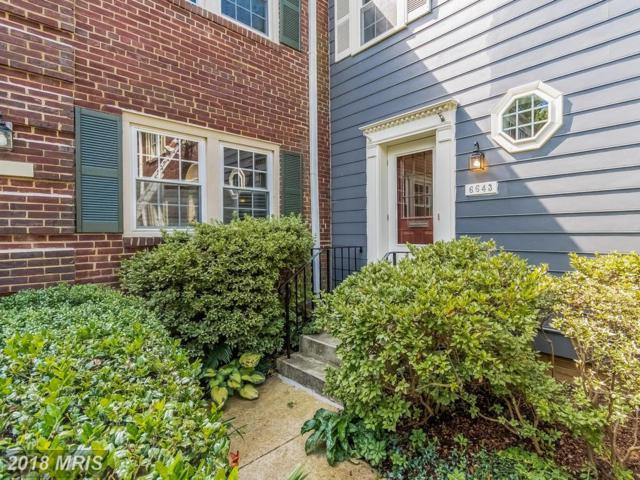 6643 Hillandale Road #106, Chevy Chase, MD 20815 (#MC10250890) :: The Withrow Group at Long & Foster
