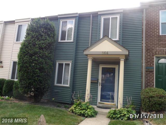 864 West Side Drive 14-D, Gaithersburg, MD 20878 (#MC10299047) :: Dart Homes