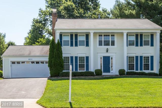 920 Pointer Ridge Drive, Gaithersburg, MD 20878 (#MC9984558) :: The Sebeck Team of RE/MAX Preferred