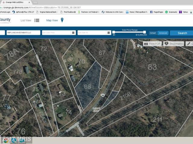 Constitution Highway, Orange, VA 22960 (#OR10062572) :: United Real Estate Premier