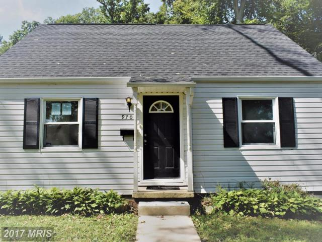 9704 48TH Place, College Park, MD 20740 (#PG10049878) :: Pearson Smith Realty