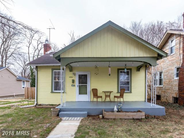 4404 31ST Street, Mount Rainier, MD 20712 (#PG10186133) :: Keller Williams Preferred Properties