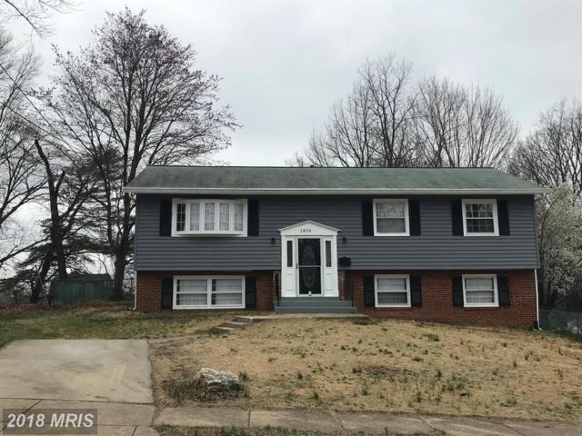 1816 Glendora Drive, District Heights, MD 20747 (#PG10200883) :: Keller Williams Pat Hiban Real Estate Group