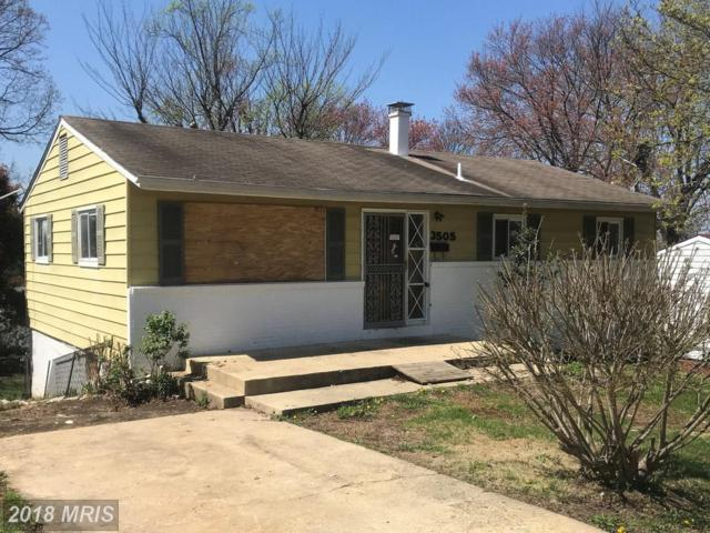 3505 25TH Place, Temple Hills, MD 20748 (#PG10215295) :: Keller Williams Pat Hiban Real Estate Group