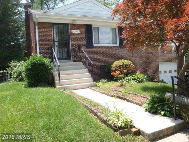 2503 Saint Clair Drive, Temple Hills, MD 20748 (#PG10247638) :: Keller Williams Preferred Properties