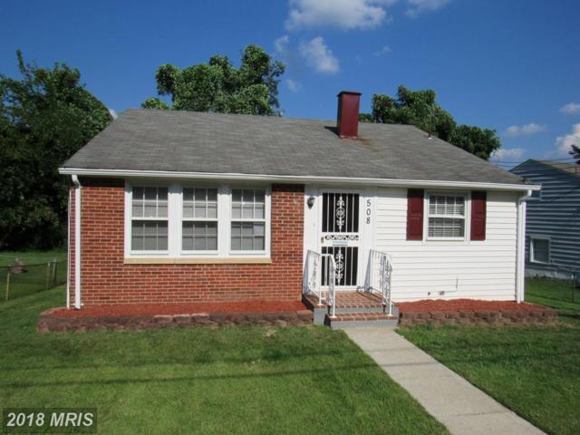 508 Winslow Road, Oxon Hill, MD 20745 (#PG10339844) :: Browning Homes Group
