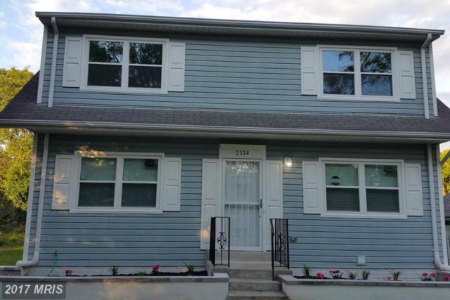 2114 Spaulding Avenue, Suitland, MD 20746 (#PG9968295) :: LoCoMusings