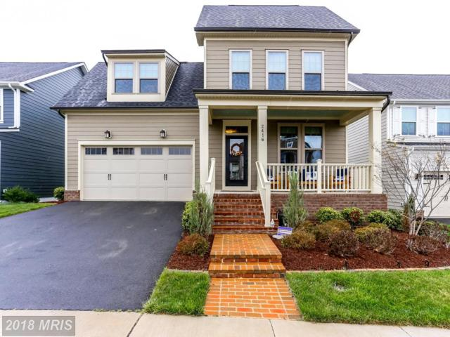 2416 Glouster Pointe Drive, Dumfries, VA 22026 (#PW10221453) :: RE/MAX Cornerstone Realty