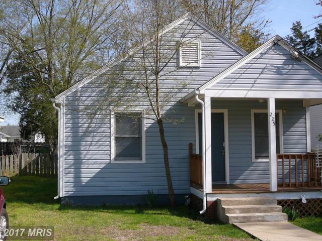 225 Mansfield Street, Fredericksburg, VA 22408 (#SP10074385) :: LoCoMusings