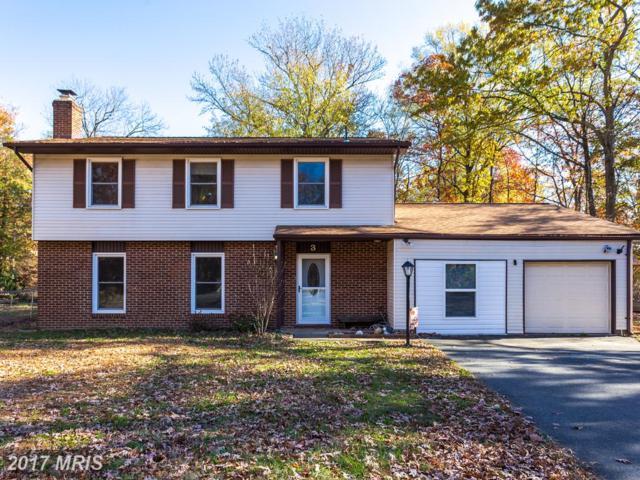 3 Webster Court, Fredericksburg, VA 22407 (#SP10109025) :: Green Tree Realty